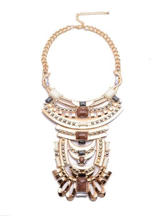 Glorious Russet Necklace