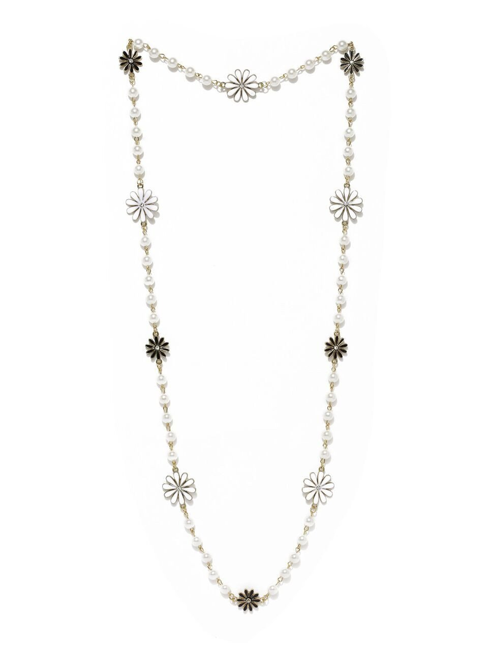 White Matinee Necklace