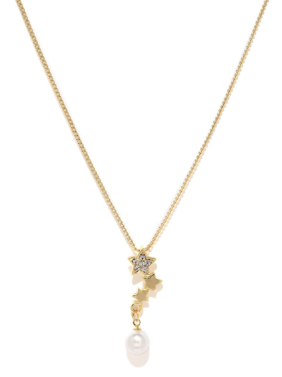 Gold Toned Cindrella Necklace