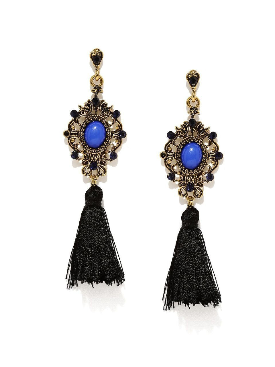 Milla Tasseled Earrings