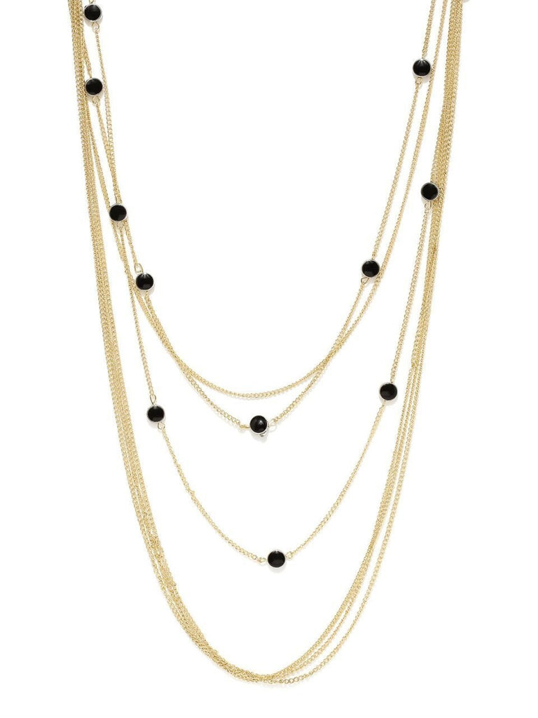 Gold Kristie Layered Necklace