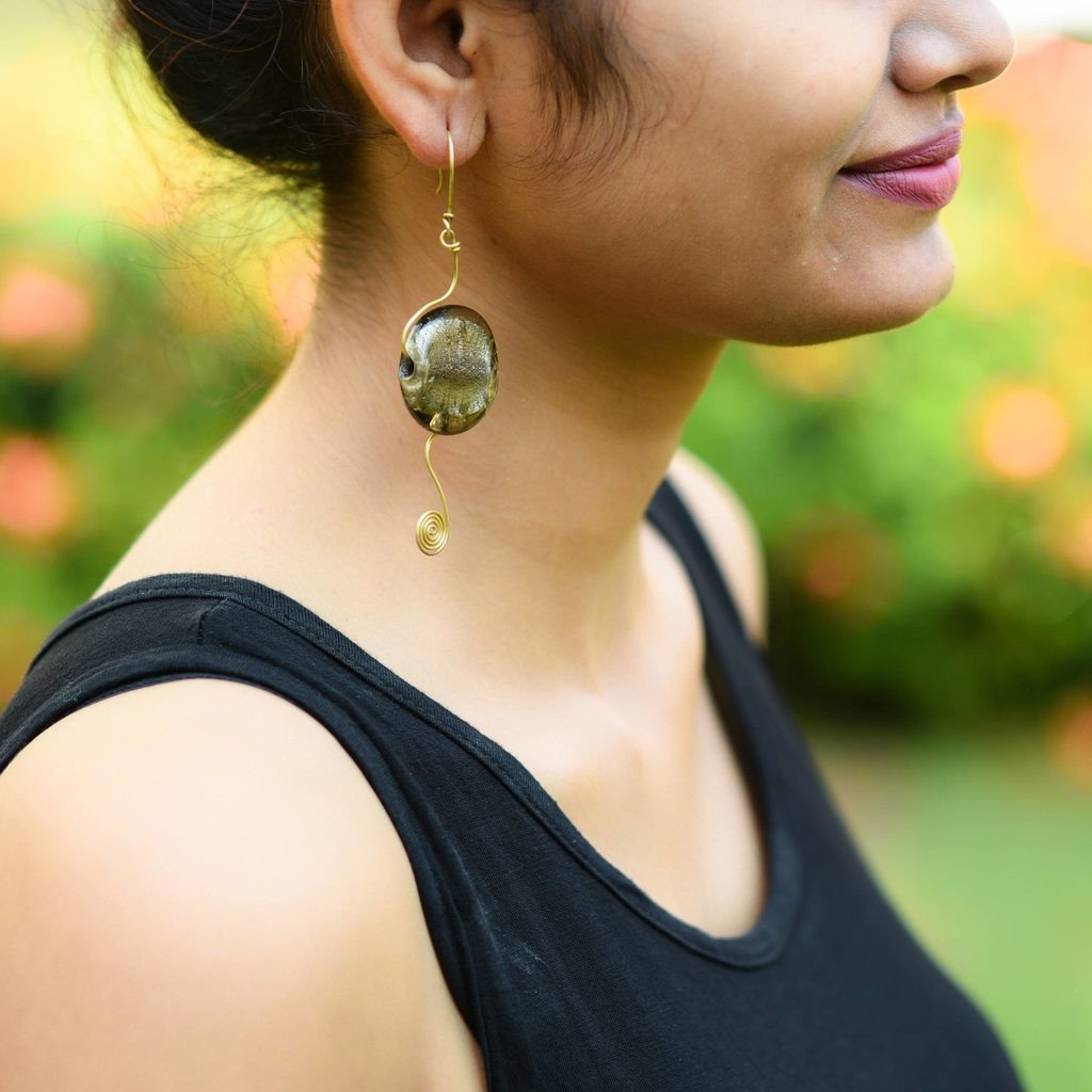 Dhokra Earring Chic