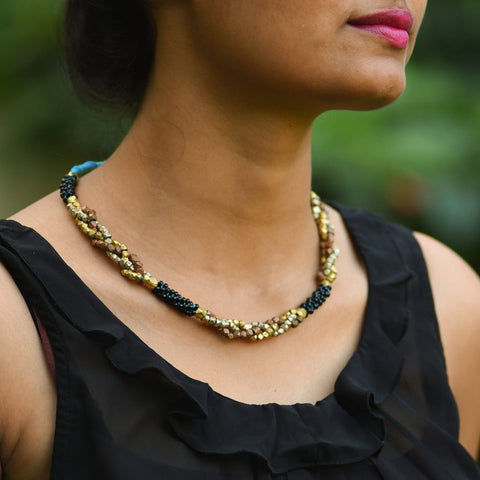 Dhokra Tribal Necklace Enthral