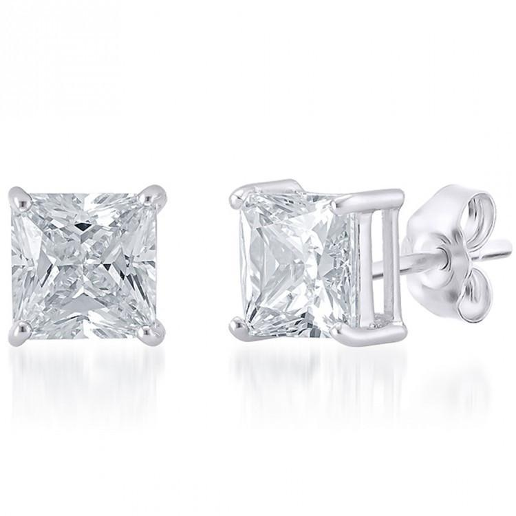 Square Studs For Party Wear