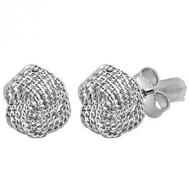Knot Studs For Party Wear