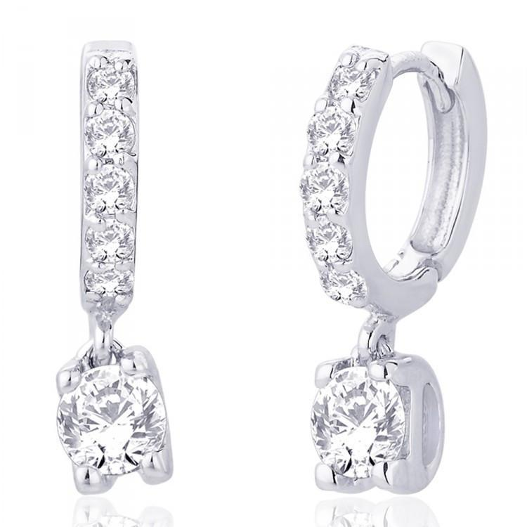 Elegant Bali Huggie Earrings For Party Wear