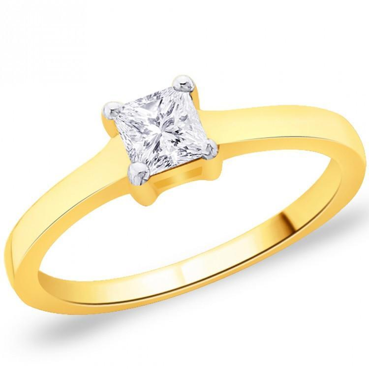 Goldrush Solitaire Ring