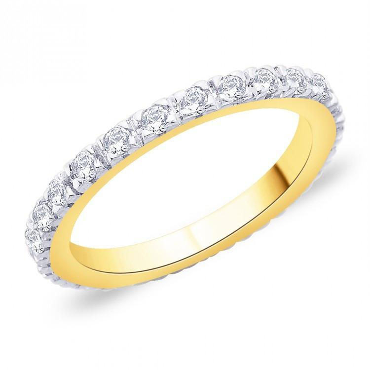 Golden Eternity Ring