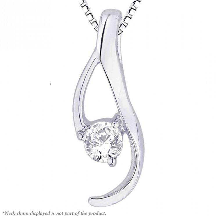 Nine Shine Solitaire Pendant