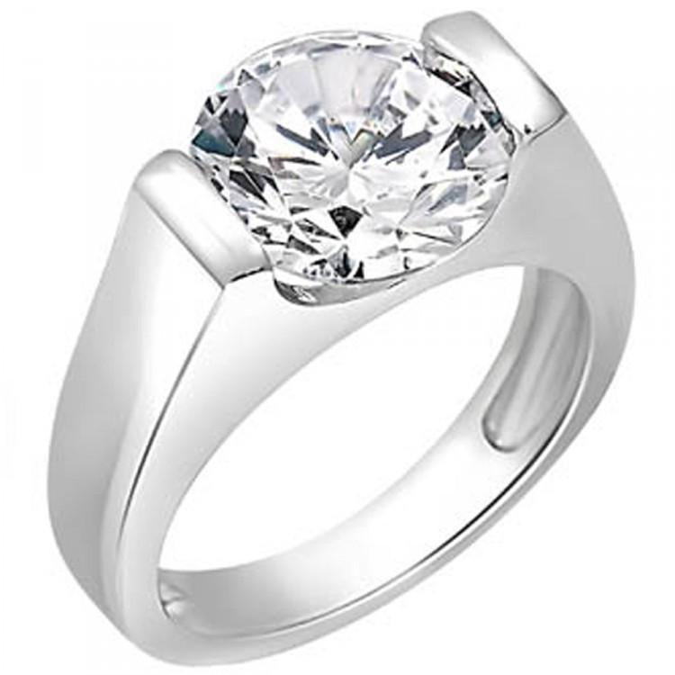 Solitaire Ring For Party Wear