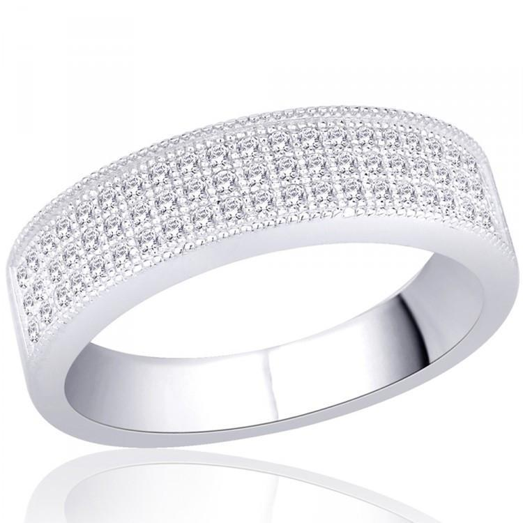 Milgrain Band Ring For Party Wear