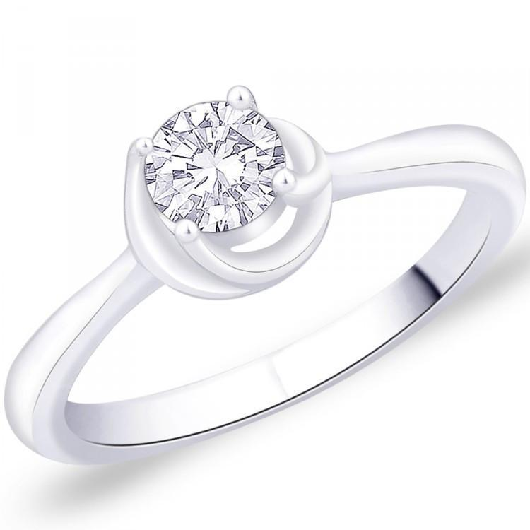 Melodious Solitaire Ring