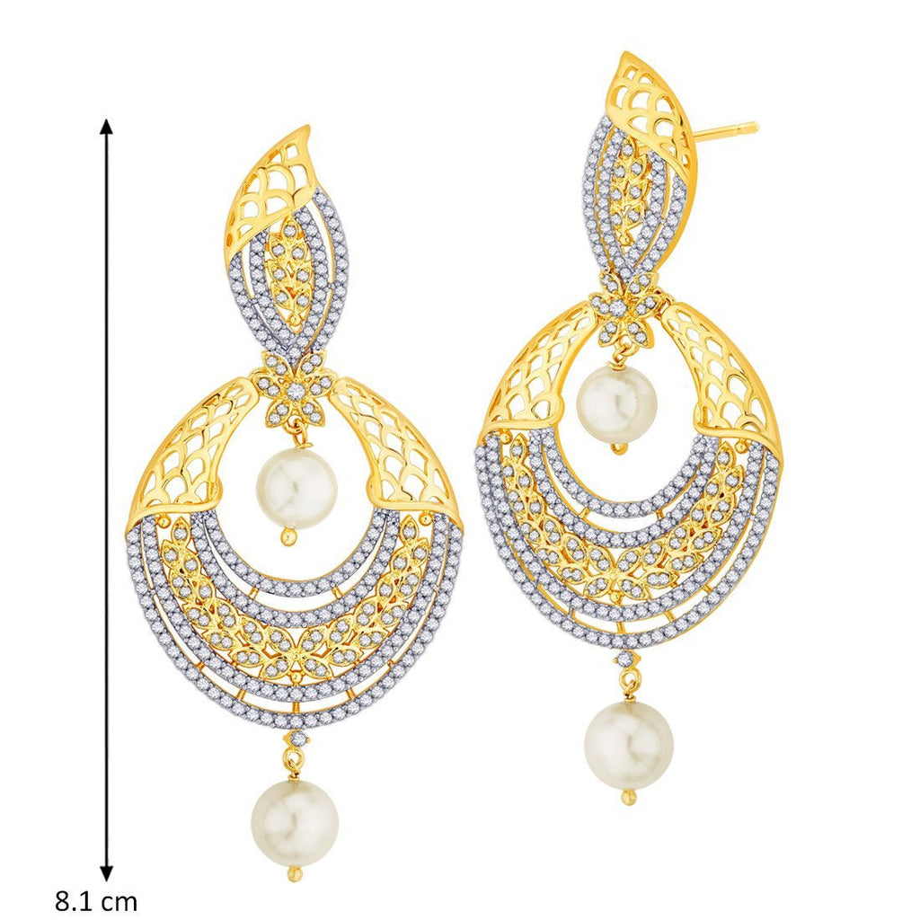 Party Wear Filigree Danglers