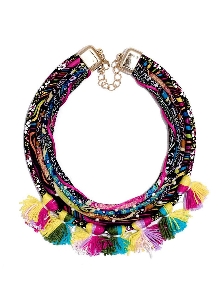 Radiant Tassel Necklace
