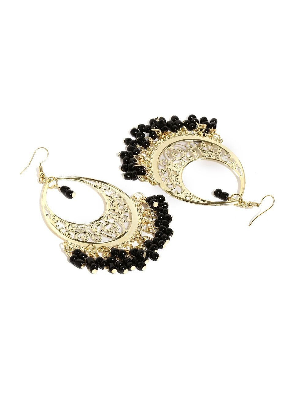 Black Firdosi Earrings