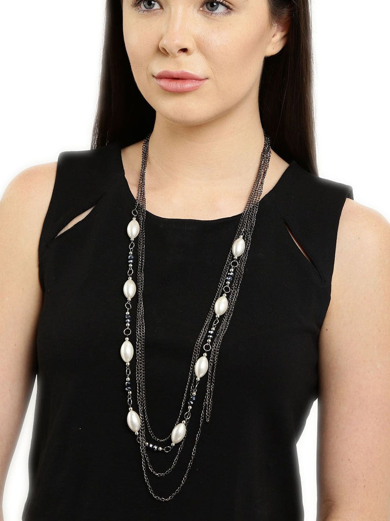 Black Galaxy Pearl Necklace