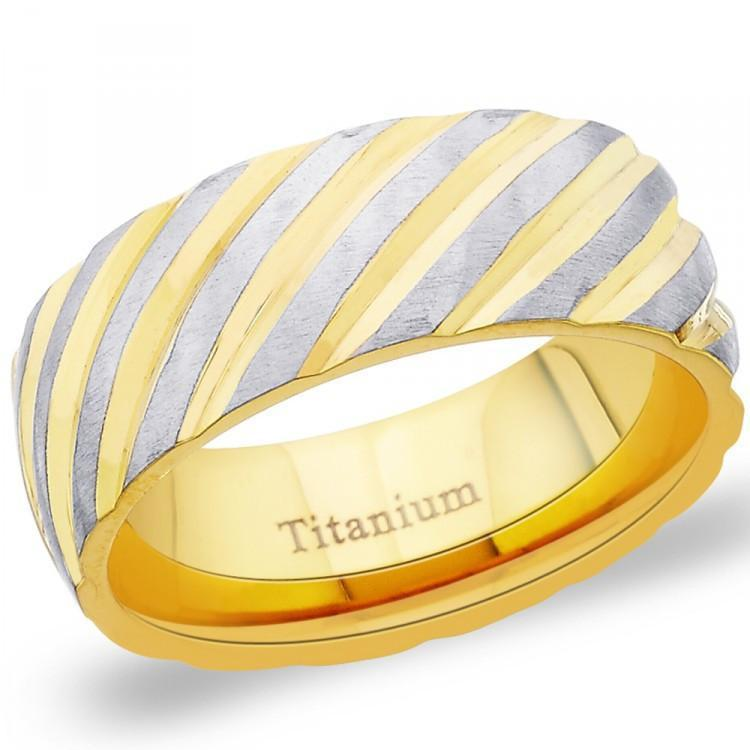 Heavenly Golden Band For Him