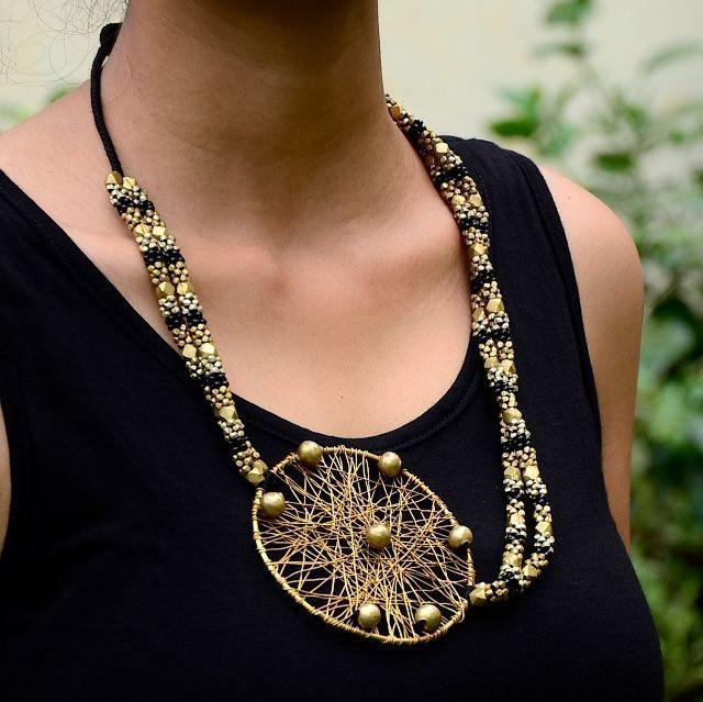 Dhokra Tribal Necklace Classic