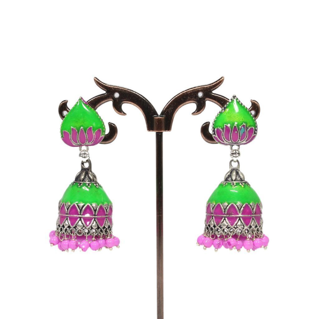 Lotus Design Amarapali Stud Earring