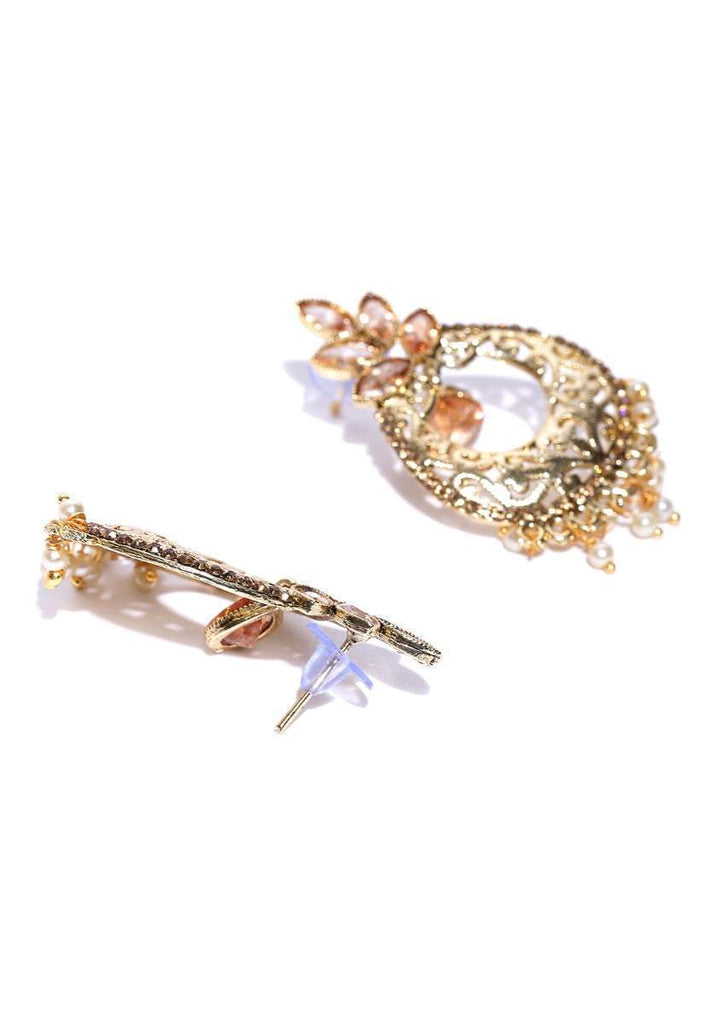 Zaveri Pearls Compelling Dangle Earring