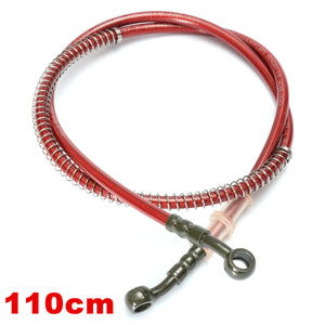 60cm - 200cm Motorcycle Brake Clutch Oil Hose Braided Line Pipe