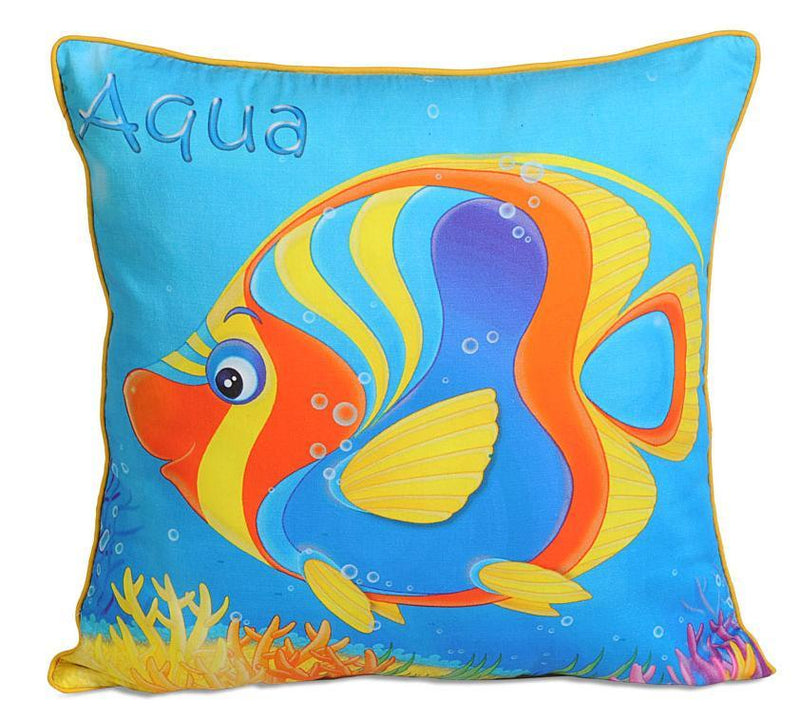AQUA KIDS CUSHION COVER - Flickdeal.co.nz