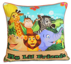 LIL FRIENDS CUSHION COVER - Flickdeal.co.nz