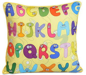 ALPHABETS KIDS CUSHION COVERS - Flickdeal.co.nz
