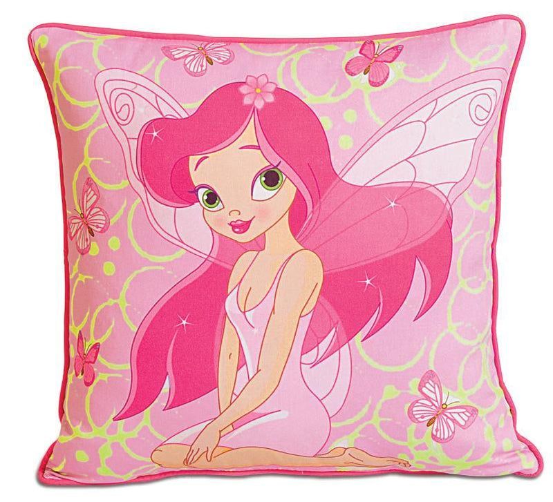 FAIRY KIDS CUSHION COVER - Flickdeal.co.nz