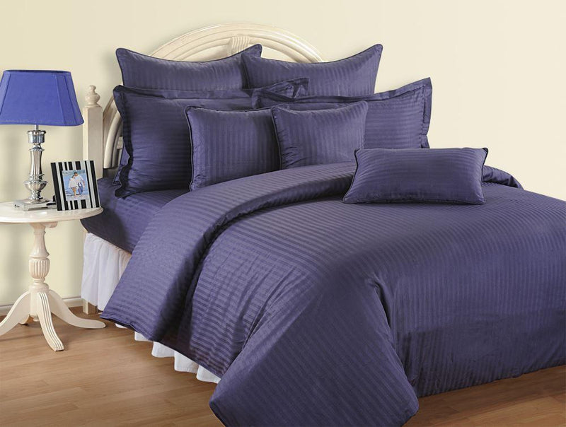 Canopus Indigo Bed Linen Super King - Flickdeal.co.nz