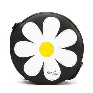 Women Sunflower Chain Shoulder Bags Girls Cute Cake Round Bags Crossbody Bags