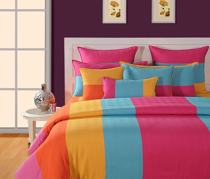 CANOPUS MULTI COLORED DUVET COVER