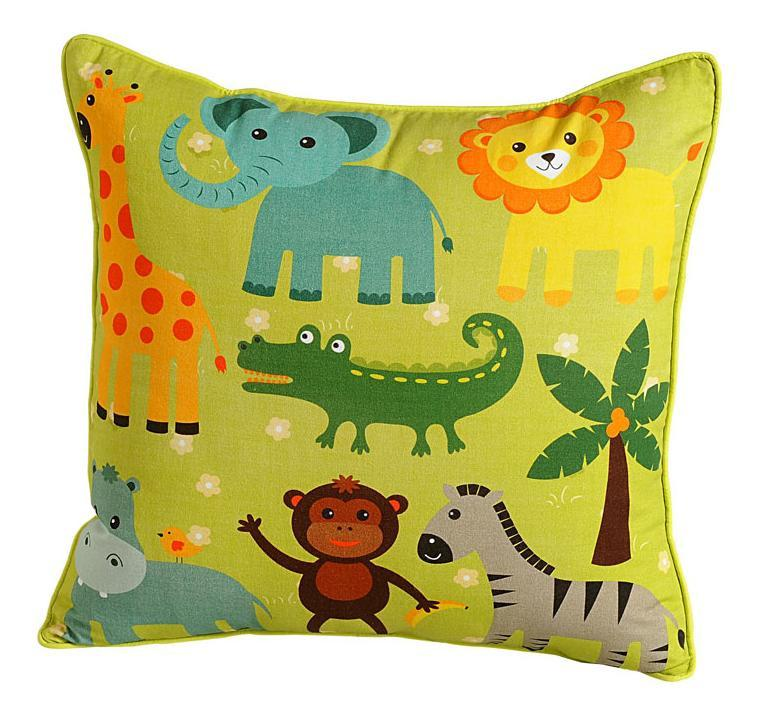 CROC FRIENDS CUSHION COVER - Flickdeal.co.nz