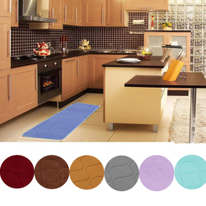 120x40cm Absorbent Anti Skid Memory Foam Mat Coral Velvet Bath Rug Chronic Rebound Floor Carpet