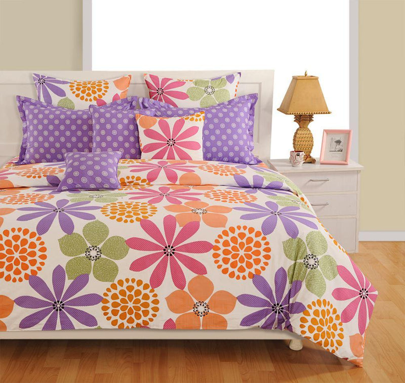 Canopus  Lovely Floral Bed Linen Set - Flickdeal.co.nz