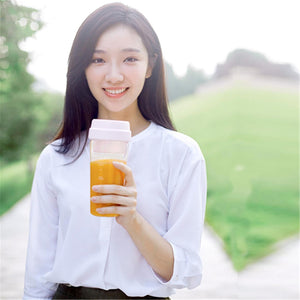 17PIN 400ML DIY Fruit Juicer Bottle from xiaomi youpin