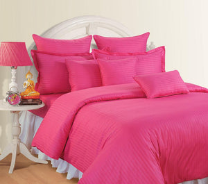 CANOPUS INDIAN PINK DUVET COVER SET - Flickdeal.co.nz