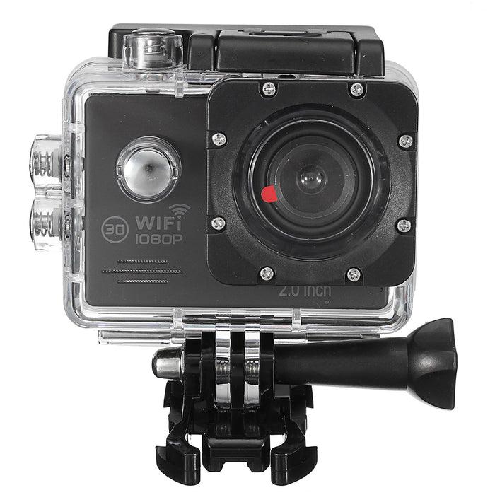 SJ7000 16MP Waterproof Full HD 1080P Wifi 2.0 Inch Screen Action Camera Sport with Accessory Case