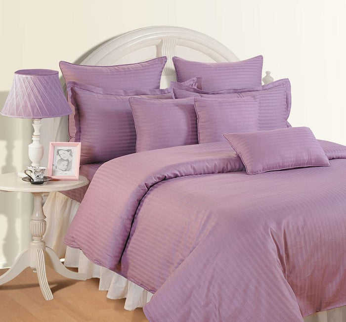 Canopus Purple Bed Sheet- Super King