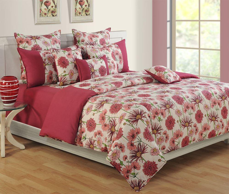 FLORAL LIFE DUVET COVER SET - Flickdeal.co.nz