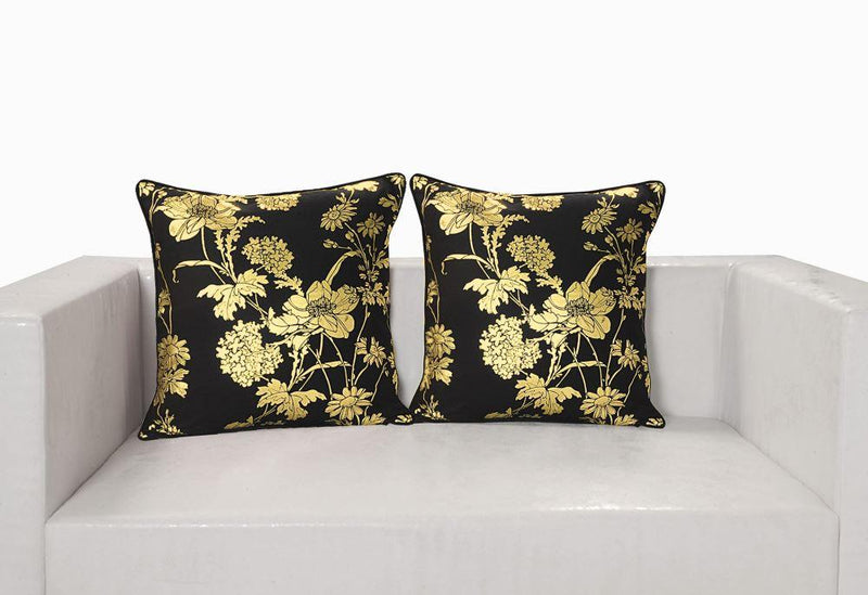 Gold foil cushion cover - Flickdeal.co.nz