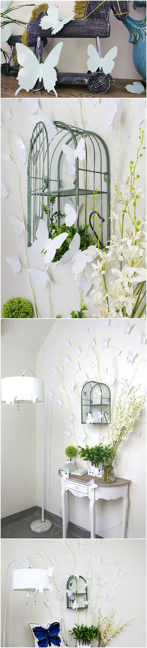 12Pcs 3D Butterfly Wall Stickers Home Room Wall Decal Window Door Decoration Stickers