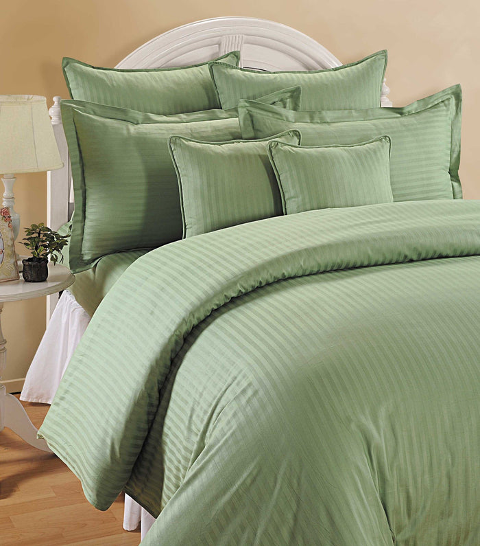 CANOPUS GREEN DUVET COVER SET