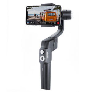 MOZA Mini S Foldable 3-Axis Handheld Gimbal Stabilizer for iPhone X Samsung S8 Huawei P30 Smartphone GoPro