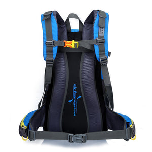 Xmund XD-DY22 40L Climbing Backpack Waterproof Nylon Sports Travel Hiking Shoulder Bag Unisex Rucksack