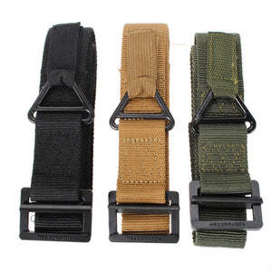 KALOAD Survival Tactical Waist Belt Strap Military Emergency Rescue Protection Waistband For Hunting