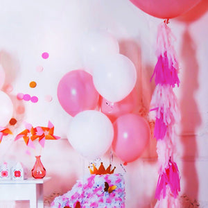 5x7ft Pink Balloon Birthday Photography Backdrop Studio Prop Background