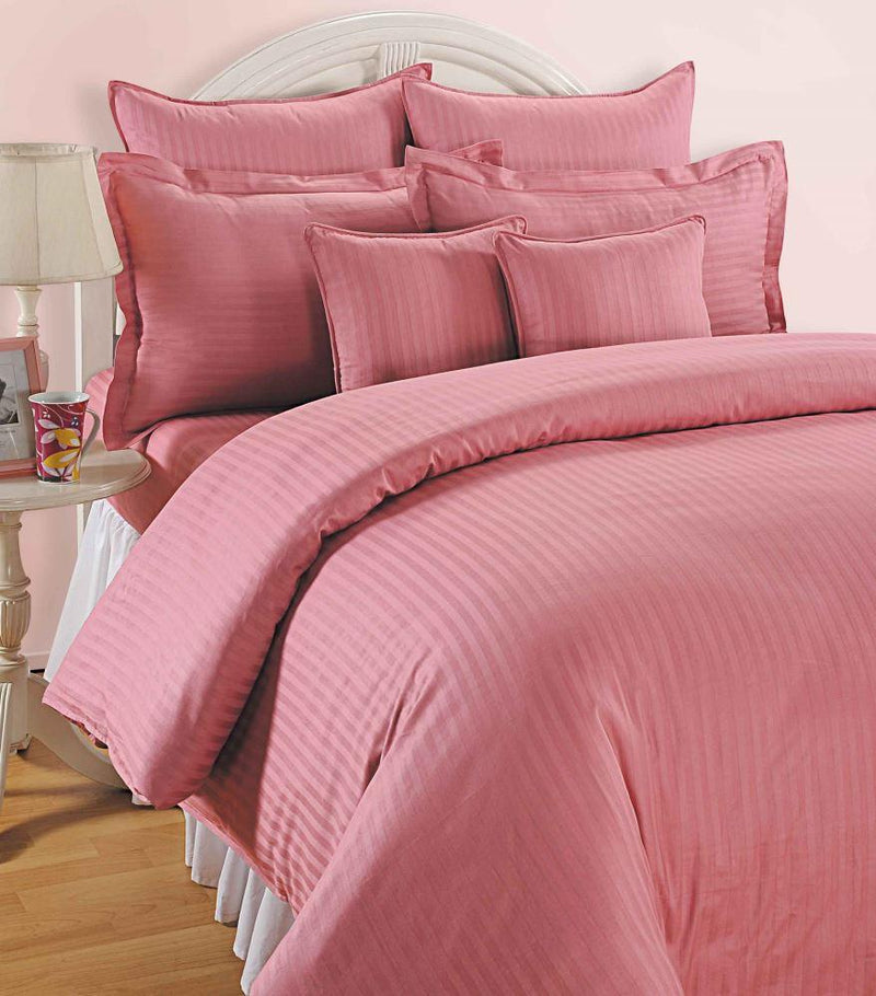 Canopus Pink Bed Linen- Super King - Flickdeal.co.nz