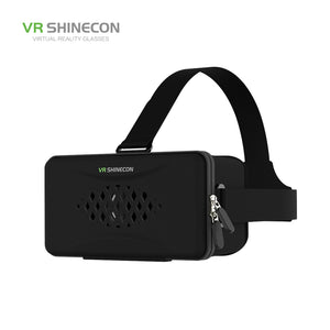VR SHINECON Y003 Cloth Art Zipper Virtual Reality Glasses for 4.7 to 5.7 Inches Smartphone