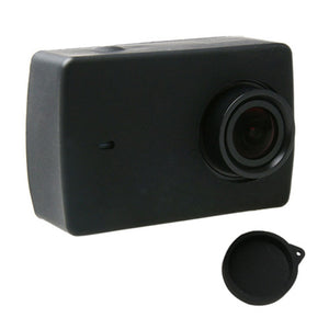 Silicon Protective Soft Rubber Case Lens Cover for Xiaomi Yi II 2 4K Sports Camera
